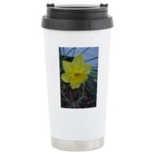 Smiling Daffodil Travel Mug