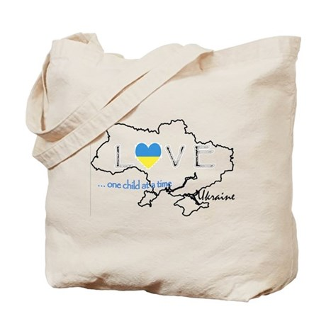 Love Ukraine...(L) Tote Bag
