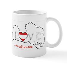 Love Latvja(Latvia)...(L) Mug
