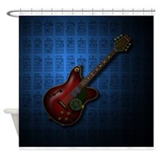 KuuMa Guitar 08 (B) Shower Curtain