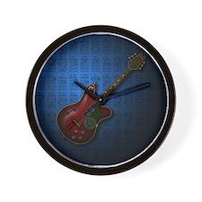 KuuMa Guitar 08 (B) Wall Clock