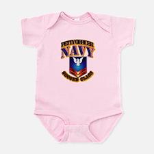 NAVY - PO2 Infant Bodysuit