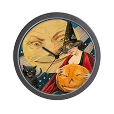 Cute Vintage halloween Wall Clock