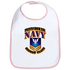 NAVY - PO2 - Gold Bib