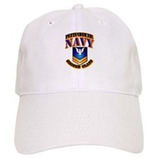 NAVY - PO2 - Gold Baseball Cap