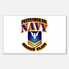 NAVY - PO2 - Gold Decal