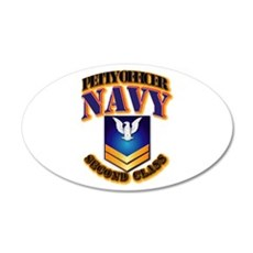 NAVY - PO2 - Gold Wall Decal