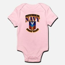 NAVY - PO1 Infant Bodysuit