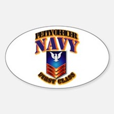 NAVY - PO1 Decal