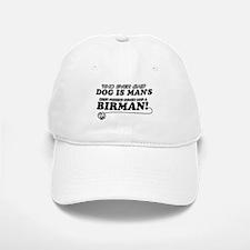 Birman Cat designs Baseball Baseball Cap
