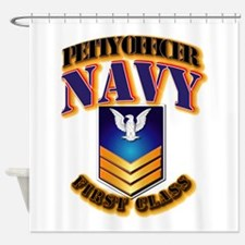 Navy Retired Shower Curtains Navy Retired Fabric Shower Curtain Liner