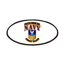 NAVY - PO1 - Gold Patches