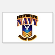 NAVY - PO1 - Gold Decal