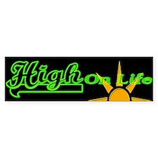 High On Life! Bumper Bumper Bumper Sticker