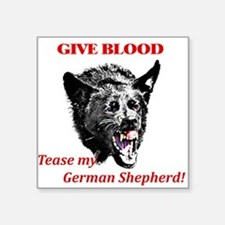 shepherd tease Sticker