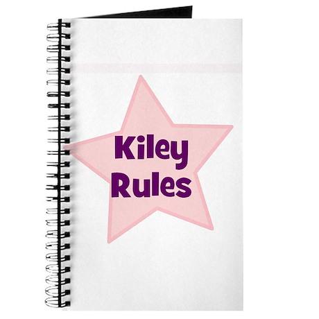 Kiley Rules Journal