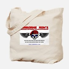 Airborne Ron's High Speed Paracords Tote Bag