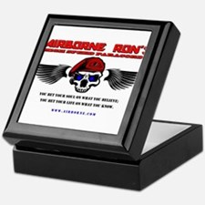 Airborne Ron's High Speed Paracords Keepsake Box