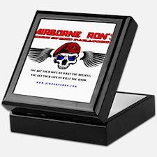Airborne Ron's High Speed Logo Gear Keepsake Box