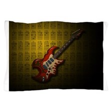 KuuMa Guitar 01 (Y) Pillow Case