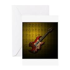 KuuMa Guitar 01 (Y) Greeting Card
