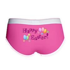 Happy Easter Bunny Women's Boy Brief