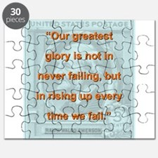 Our Greatest Glory - RW Emerson Puzzle