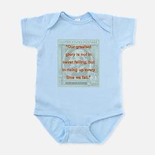 Our Greatest Glory - RW Emerson Infant Bodysuit