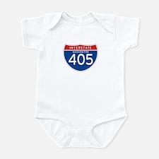 Interstate 405 - WA Infant Bodysuit