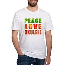 Peace Love Ukulele Shirt