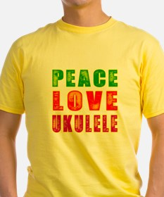 Peace Love Ukulele T