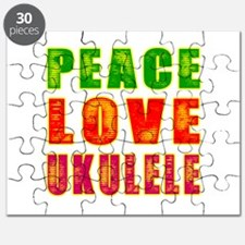 Peace Love Ukulele Puzzle