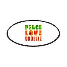 Peace Love Ukulele Patches
