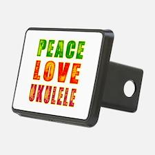 Peace Love Ukulele Hitch Cover