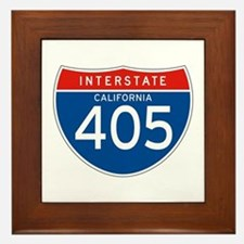Interstate 405 - CA Framed Tile