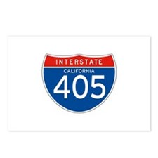 Interstate 405 - CA Postcards (Package of 8)