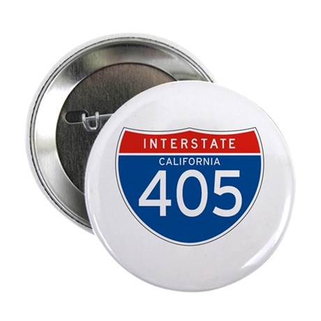 "Interstate 405 - CA 2.25"" Button (10 pack)"