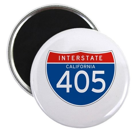 "Interstate 405 - CA 2.25"" Magnet (100 pack)"