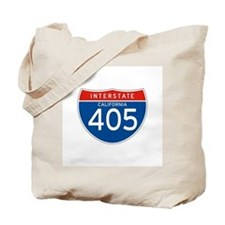 Interstate 405 - CA Tote Bag