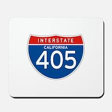 Interstate 405 - CA Mousepad
