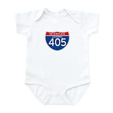 Interstate 405 - CA Infant Bodysuit