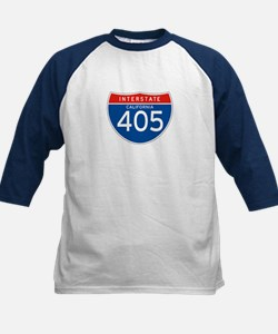 Interstate 405 - CA Kids Baseball Jersey