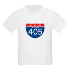 Interstate 405 - CA Kids T-Shirt