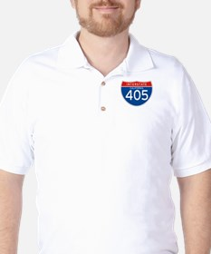 Interstate 405 - CA Golf Shirt