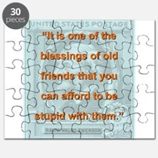 It Is One Of The Blessings - RW Emerson Puzzle