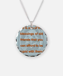 It Is One Of The Blessings - RW Emerson Necklace