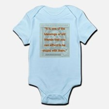 It Is One Of The Blessings - RW Emerson Infant Bod