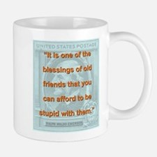 It Is One Of The Blessings - RW Emerson Mug