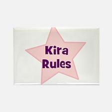 Kira Rules Rectangle Magnet
