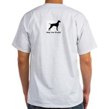 VIZSLA Evolution - Ash Grey T-Shirt